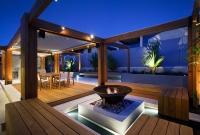 Flexible Construction Backyard Entertainment Area
