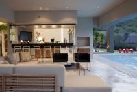 Flexible Construction Modern Luxury Home Interior